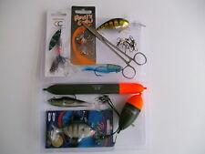 pêche au brochet accessoire - KIT COMPLET Inc.TACKLE BOITE fantastique VALEUR