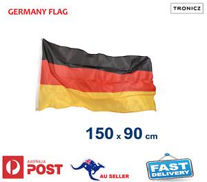 Deutschland Germany German DE Flag National Outdoor 150x90cm 5x3feet