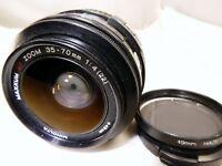 Minolta 35-70mm f4.0 AF Lens Sony A mount constant aperture zoom -