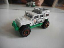 Matchbox Jeep Wrangler Superlift in White