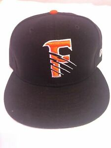 Pre-Owned Size 7 1/2 Fresno Grizzlies New Era Orange/Black Home Hat Fitted AAA