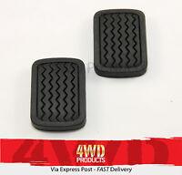 Brake/Clutch Pedal Pad SET - for Nissan 720 4WD 1.8P 2.2D 2.5D (80-85)