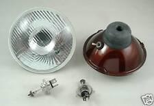 Mini Morris Curved Headlight Headlamp Kit H4 Halogen inc Park