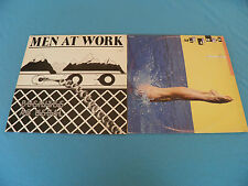 Men At Work - Business As Usual + Two Hearts - RARE Israel Made Promo 2xLP