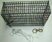 WIRE CHUM CAGE BOX POT FOR A STANDARD CHUM BLOCK