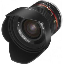 Samyang 12 mm f/2 NCS CS Objectif pour Fujifilm X - Noir