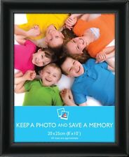 Black Modern Photo Picture Frame 8x10 A4 Certificate Standard