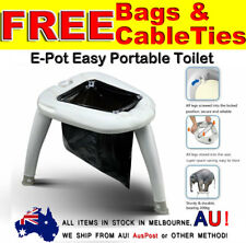Beyond Outdoor Portable Folding Toilet for Camping Potty Caravan Boating Fishing