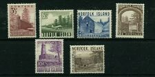 NORFOLK ISLAND #13 - #18 * mint hinged Cat Value $44 - stamps