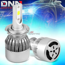 2 IN 1 6000K WHITE LED H7 HEADLIGHT FRONT LAMP BULBS WITH FAN LIGHTING SYSTEM