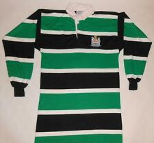 RUGBY SHIRT HALBRO BLYTH RFC - LONG SLEEVE (M) Jersey Trikot Maillot Maglia