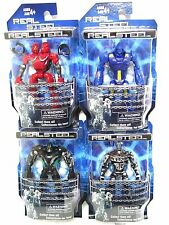 Real Steel (FULL SET) figures Twin Cities Zeus Noisy Boy Atom 4 boxed