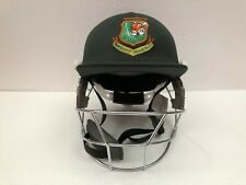 Black Ash Pro Bangladesh Cricket Batting Helmet Adjustable Green