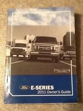 2011 11  Ford E Series Owners Manual