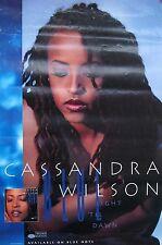 CASSANDRA WILSON POSTER, BLUE LIGHT TIL DAWN (F8)