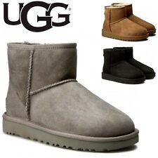 UGG Australia W Classic Mini II 1016222 Warm Soft Sheepskin Versatile Boots