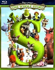 SHREK, THE WHOLE STORY Complete Collection: 1+2+THE THIRD+FOREVER AFTER Blu-ray