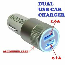 Car Charger Double USB Twin Port 12v Cigarete Socket For Iphone Samsung