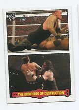 2012 TOPPS WWE HERITAGE FABLED TAG TEAMS #8 THE BROTHERS OF DESTRUCTION