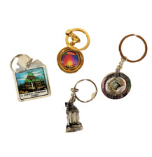 Key Chain Lot of 4 from Southern Usa Cities
