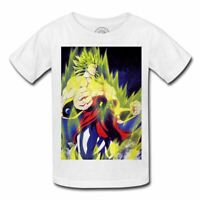 T-shirt enfant broly super saiyan dragon ball