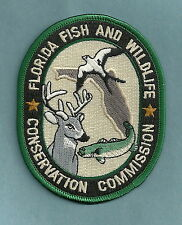 FLORIDA FISH AND WILDLIFE COMMISSION ENFORCEMENT POLICE PATCH