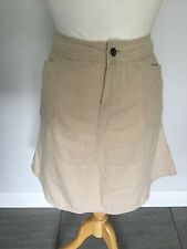 Fat Face Ladies Beige Skirt Size 14. Good Condition.