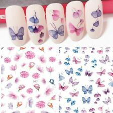 Nail Art Sticker Fashion Water Decal Flower Decoration Manicure For Women Supply