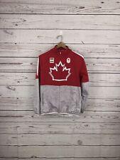 Hudson's Bay TEAM CANADA Men's Small S ATHLETE ISSUE Windbreaker Jacket RARE