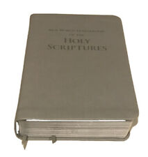 New World Translation of the HOLY SCRIPTURES Bible Leatherette Silver Gilded