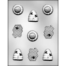 BEE ASSORTMENT CHOCOLATE MOLD - 9011916 - CHOCOLATES MAKING MOLDS