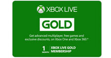 Microsoft Xbox Live 1 Month Gold Membership Code Xbox One / 360 Code