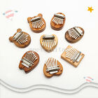 8 Keys Mini Kalimba Mini Thumb Piano Finger Percussion Solid Wood Pocket Musical