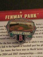 WILLABEE & WARD FENWAY PARK STADIUM BOSTON RED SOX MLB BASEBALL PIN W/CARD