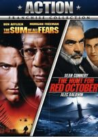 The Sum of All Fears / The Hunt for Red October [New DVD] Ac-3/Dolby Digital,