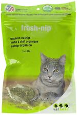 VAN NESS FRESH ORGANIC CATNIP CAT PURE HERBS KITTY 1 OZ BAG.FREE SHIP IN THE USA