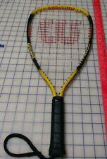 """Wilson Power Racquetball Racquet Ripper Titanium Power Sleeves 4"""" Grip"""