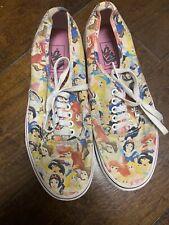 Vans Limited Edition Disney Princess Sneaker Shoes US Women 8.5 - Men Size 7