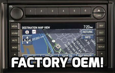 FACTORY STOCK OEM FORD® GPS NAVIGATION RADIO UPGRADE 6CD PLAYER AUX INPUT STEREO