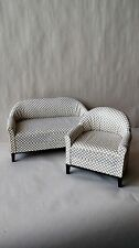 Economy Priced 1:6 Scale Furniture for Fashion Dolls  2pc. Sofa Set 4300CD