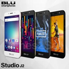 Blu Studio J2 Unlocked 5'' 4G Factory Unlocked Smart Phone Android 8GB New