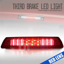 Red Lens 2009-2014 Ford F150 LED Rear 3rd Third Brake Light Stop Cargo Lamp