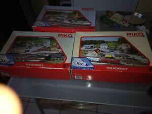 Gros lot de maquettes piko hobby 3 boîtes de 5 maquettes pars boîte à trier