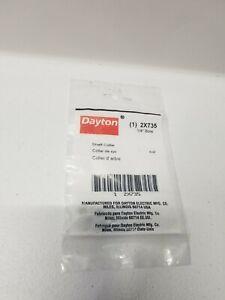 """Dayton 2X735 Shaft Collar 1/4"""" Bore (Set Of 3)"""