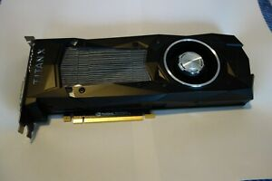 Nvidia GTX Titan X Pascal 12GB DDR5X VR Ready Graphics Card
