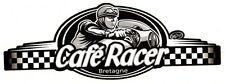 Sticker CAFE RACER bretagne 115mm x 43mm