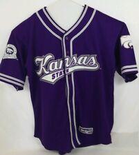 KSU Kansas State Wildcats Men BASEBALL STYLE Jersey Size XL