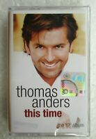 This Time by Thomas Anders Rare 2004 Malaysia Cassette Tape New Sealed