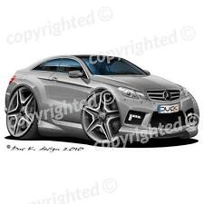 Mercedes E500 AMG - Vinyl Wall Art Sticker - Grey