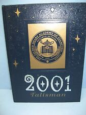 2001 Talisman, The Sacred Heart Academy of Stamford, Connecticut Yearbook